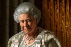 Jubilee Portrait of Queen Elizabeth-painted by Ralph Heimans