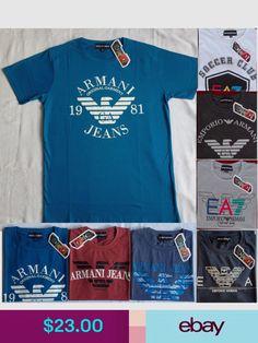 08a82913ad8 Emporio Armani T-Shirts  ebay  Clothing