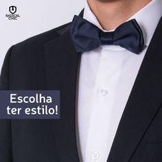 Um toque de elegância e sofisticação para qualquer composição: gravata borboleta <3 Acessório clássico para as ocasiões especiais e homens de estilo. #RadicalChic #ModaMasculina #Gravata #GravataBorboleta #Estilo #HomemEstilo