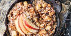 Rezept von Angela Liddon: Apfelkuchen-Haferbrei