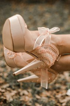 Peach Satin Embellished Lace Wedding Shoes | Etsy    blush bridal shoes with high heels, perfect romantic wedding shoes for a fairy tale wedding theme Blush Bridal Shoes, Satin Wedding Shoes, Wedding Heels, Lace Wedding, Wedding Makeup Blue, Colorful Wedding Shoes, Bridesmaid Shoes, Tea Length Wedding Dress, Cool Wedding Cakes