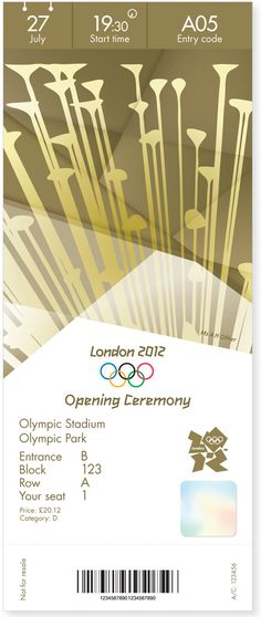 London 2012 Olympic and Paralympic Games Tickets | Designer: Futurebrand | Image 11 of 12