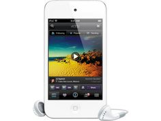 Apple iPod Touch MD058BT/A - MP3 Player - 32 GB - 4th Gen - Λευκό