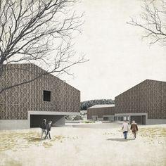 2013| Habitatges i sala polivalent : TEd'A arquitectes