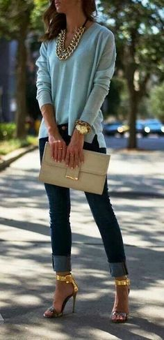 ....in love with those shoes!