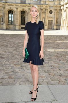 Dior Front Row PFW SS15- Aymeline Valade in Dior