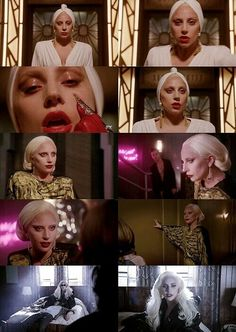 Find images and videos about Lady gaga, american horror story and ahs on We Heart It - the app to get lost in what you love. American Horror Story Hotel, American Horror Story Seasons, Lady Gaga Photoshoot, Ahs Hotel, Cinema, Papi, Photo Wall Collage, Little Monsters, Scary Movies