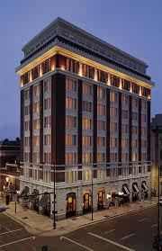 The Facade of the Hotel Teatro in Denver. Hotel Design Architecture, Commercial Architecture, Facade Architecture, Office Building Architecture, Design Exterior, Facade Design, Building Exterior, Building Design, Neoclassical Architecture