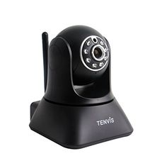 Foscam FI9816P Plug and Play 720P HD H.264 Wireless/Wired Pan/Tilt IP Camera, 26-Feet Night Vision and 70 Degree Viewing Angle (Black)