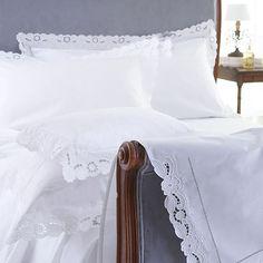 Cutwork Bed Linen - Cologne & Cotton