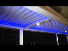 The power of a pergola! Powered Louver Roof Systems! - YouTube
