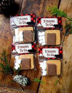 Creative Lumberjack Birthday Party – Pretty My Party – Party Ideas Lumberjack S'mores Party Favors Baby Boy 1st Birthday, Boy Birthday Parties, Birthday Ideas, Lumberjack Birthday Party, Lumberjack Wedding, Camping Party Favors, Camping Theme, Camping Party Decorations, Sweets