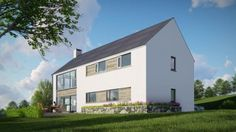 Housing projects completed by McCabe Architects in Donegal, Sligo and Ireland. House Designs Ireland, Modern Barn, Types Of Houses, Home Projects, Future House, Architecture Design, House Plans, Donegal, Exterior