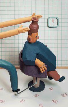 ILLUSTRAZIONE: Le sculture di Hudson Christie - Osso Magazine