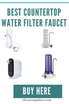 Countertop water filter faucet sits on the kitchen countertop and connects directly to tap allows switching between filtered and unfiltered water. Under Counter Water Filter, Sink Water Filter, Countertop Water Filter, Best Water Filter, Drinking Water Filter, Water Filter Pitcher, Water Filters, Water Faucet, Reverse Osmosis Water System