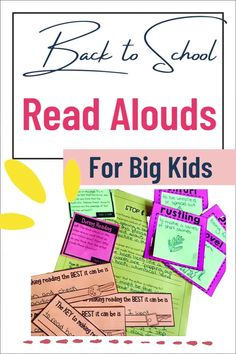 Are you an upper elementary teacher looking to incorporate some diverse read alouds into your back to school activities? This Interactive Read Aloud bundle is just what you need for your grade 4, grade 5 or grade 6 classroom! It includes both printable and digital reading comprehension activities so that you can use the bundle no matter if you are teaching in person or distance learning. They are great reading activities to leave as sub plans. Perfect for reading workshop and cross curricular Reading Comprehension Activities, Teaching Strategies, Book Activities, Elementary Teacher, Upper Elementary, Interactive Read Aloud, Classroom Routines, Cross Curricular, Mentor Texts