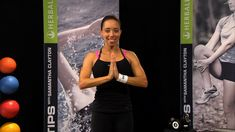 """YOGA-STYLE STRESS BUSTER WORKOUT Samantha Clayton's Body Blast 