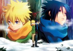 naruto e sasuke #naruto #sasuke