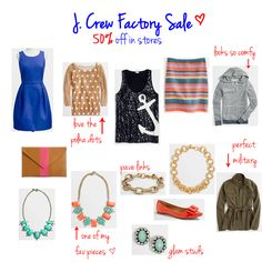 j. crew factory spring pieces  www.lovelucygirl.com
