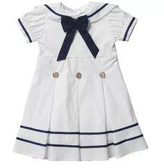 vestido marinheiro infantil - ref 1054