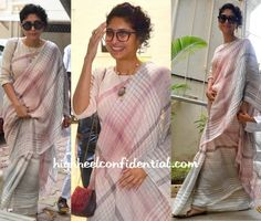 Kiran Rao Wears An Eka Sari As She And Aamir Khan Greet The Media On Eid-1 (1)