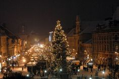 In time for Christmas: Christmas Market Kosice Christmas Movies, Christmas Carol, Christmas Markets, Christmas Tree, European Countries, Time Of The Year, Czech Republic, Wonderful Time, To Go
