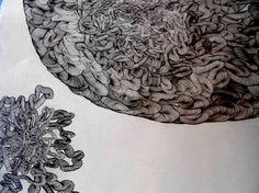 "Saatchi Art Artist Gavin Porter; Drawing, ""Journey of a Fruitfly"" #art"