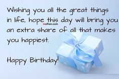 385 Best Happy Birthday Quotes for Friend images in 2018