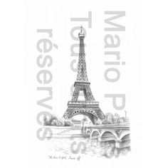 The Eiffel Tower - Eiffel Tower Forever - Paris Souvenirs $13