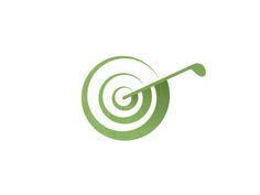 Dribbble - Golf GPS Logo by Sean Farrell