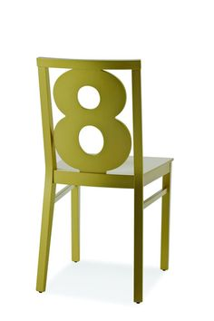 green chair number 8