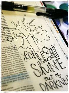 Bible Journaling Tips
