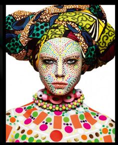 OTT Aboriginal makeup!