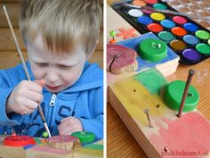 Woodworking with kids - what to put in a DIY kids woodworking set and how to use it