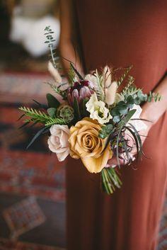 Fall Wedding Bouquets, Fall Wedding Flowers, Wedding Flower Arrangements, Bridal Flowers, Floral Wedding, Wedding Colors, Wedding Day, Bohemian Wedding Flowers, September Wedding Flowers