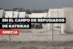 """""""Todo lo que queremos es paz y seguridad. Necesitamos un lugar en el que podamos encontrar algo de humanidad"""", dice Khaled, uno de los #refugiados en el campo de #Katsikas, #Grecia. Entre ellos se encuentran 242 #yazidíes que huyeron de #Irak debido a la entrada del """"Estado Islámico"""" en la región. Ahora están tratando de llegar a Europa, pero la frontera entre #Grecia y #Macedonia permanece firmemente cerrada. Europa, recíbelos"""