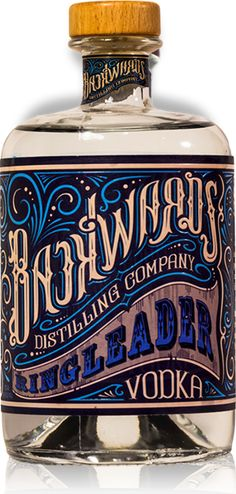 Love the vintage design of this label for Backwards Distilling Company Contortionist Gin Fashion Typography, Vintage Typography, Typography Design, Typography Images, Beverage Packaging, Bottle Packaging, Vintage Packaging, Vintage Labels, Vintage Graphic Design