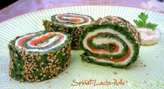 low carb Spinat-Lachs-Rolle – schlank mit verstand