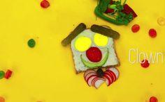 Mit diesem lustigen Clowns-Gesicht sorgen Sie garantiert für gute Stimmung am Esstisch. Ganz nebenbei gibt es gleich eine ganze Reihe an Gemüsesorten zum Probieren. In unserem Video seht Ihr, wie es geht.