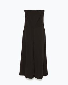 Zara off-the-shoulder jumpsuit
