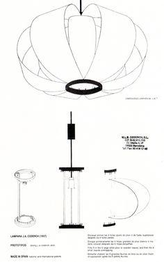A DIY version of the Disa lamp Lamp Design, Lighting Design, Diy Lampe, Solar Light Crafts, House Lamp, Wooden Lamp, Lampshades, Chandelier Lighting, Pendant Lamp