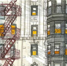 """""""Champagne and Hot Sauce Lunch on Mercer Street"""" in Soho, Manhattan – Living Mactavish"""
