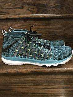 premium selection ca2b1 b2922 New Mens Nike Train Ultrafast Flyknit Running Shoes Sz. 13 ID 843694-400