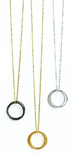 This would be a perfect everyday necklace ! medium multi-link sparkle karma necklaces #givedogeared