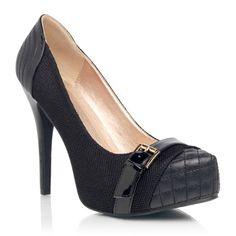 Black heels....I love them!