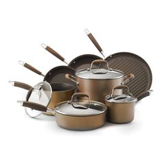 Anolon Advanced Bronze Collection 11 pc. Cookware Set - 82693