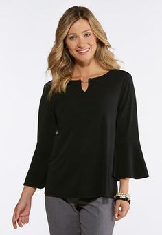 a4dfd8952f64bc Pearl Embellished Top Tees   Amp   Knit Tops Cato Fashions