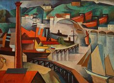 André Lhote (5 July 1885 – 24 January 1962) was a French sculptor and painter of figure subjects, portraits, landscapes and still life. He was also very active and influential as a teacher and writer on art.