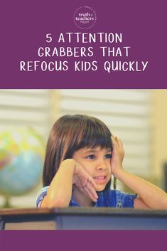 5 attention grabbers that refocus kids quickly Classroom Routines, Classroom Procedures, Science Classroom, Behavior Management Strategies, Teaching Strategies, Teaching Tips, Back To School Hacks, School Ideas, Attention Grabbers