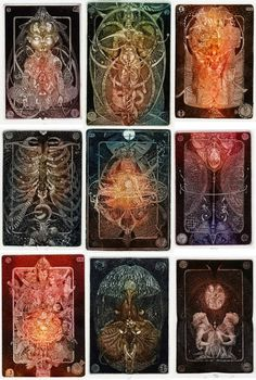 Sergey Udovichenko's tarot cards (ex libris)